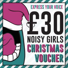 Noisy Girls christmas gift voucher
